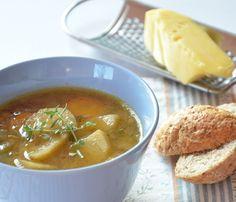 Zupa cebulowa z grzankami  http://dailytips.pl/zupa-cebulowa-z-grzankami/