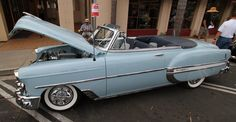 1953 Chevy BelAir at Montecito car show in 2014.