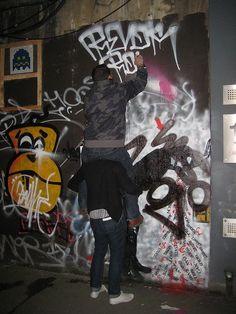 Graff tag