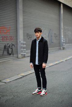 Jordan Herion:#street fashion #model