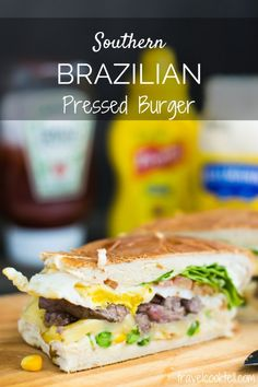 Southern Brazilian Pressed Burger   Travel Cook Tell