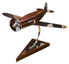 ART DECO AIRPLANE DESK MODEL