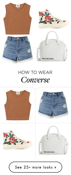 """weakend "" by mercy-148 on Polyvore featuring Samuji, Miss Selfridge and Converse"