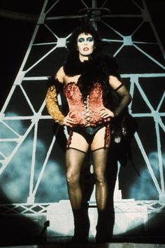 Tim Curry as Dr. Frankenfurter in Rocky Horror Picture Show
