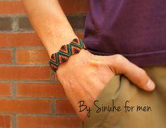 Macrame Bracelet for men Men jewels Unisex Armband by BySinuhe