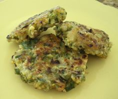 Okra Patties from Food.com: My favorite way to use okra, and besides...it is good. I usually make this in the summer when okra is plentiful, but I have also used frozen okra successfully. NOTE: I should have put this notice here before, but just didn't think! Okra should be chopped by hand. The food processor makes it way to slimey to work with.