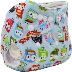 Bamboo Cloth Diaper Cover Washable