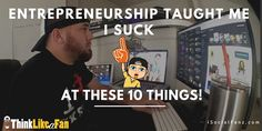 Being a entrepreneur isn't something I grew up wanting to become. I'm not sure growing up I even knew what an entrepreneur was. I did know…