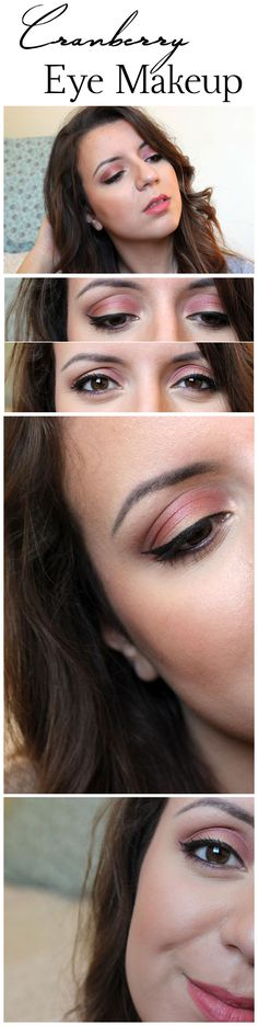 Cranberry Eye Makeup By What I Heart About