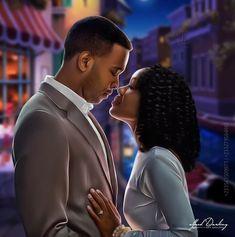 Sexy Black Art, Black Girl Art, Black Women Art, Black Girl Magic, Art Girl, Black Couple Art, Black Love Couples, Beautiful Love Images, Black Is Beautiful