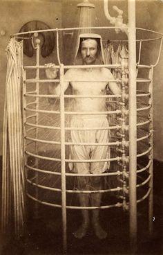 ☤ MD ☞☆☆☆ Men's spa, Aix Les Bains, France, 1875.