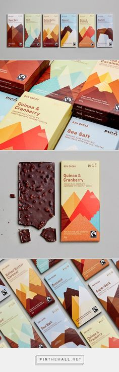 PICO Chocolate — The Dieline - Branding & Packaging - created via http://pinthemall.net