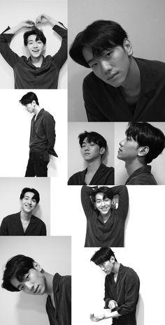 Wallpaper black and white Cute Asian Guys, Bae, Boy Models, Ulzzang Couple, Kdrama Actors, Black Men, Black And White, Boyfriend Material, Handsome Boys