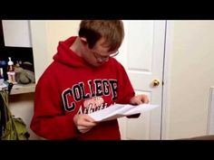 Sweetest College Acceptance Video Ever: Student with Down Syndrome Rion Holcomb's Dreams Come True