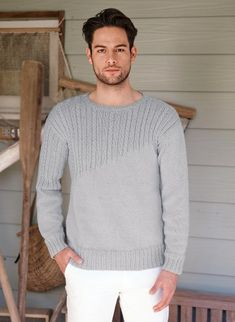 84 meilleures images du tableau pulls homme   Knitting patterns ... 0a65a9d0fe1