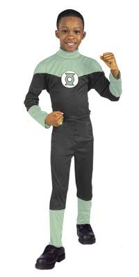 Let your little man dress up as Green Lantern.