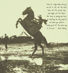 Annie Oakley #MDE Insight to Inspire