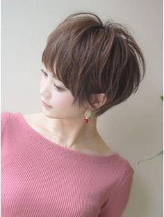 アフロートジャパン(AFLOAT JAPAN) 小顔可愛いショート 温感モーブカラー シースルーワイドバング
