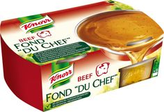 Knorr FOND DU CHEF Naudanliha-annosfondit