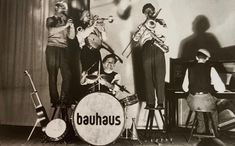 Things I Love — Members of the Bauhaus Band (T. Lux Feininger...