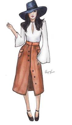 Fashion sketches 242420392431435094 - Trendy fashion illustration ideas inspiration ideas Source by yessica_yeye Dress Design Drawing, Dress Design Sketches, Fashion Design Sketchbook, Fashion Design Drawings, Fashion Sketches, Croquis Fashion, Dress Drawing, Moda Fashion, Fashion Art