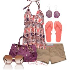 """Summer Days"" by sweetlikecandycane on Polyvore"