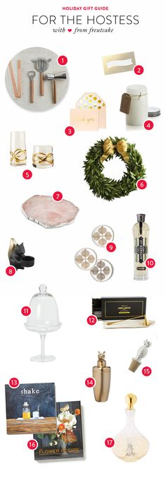 Gift Guide: For the Hostess | See more - http://www.stylemepretty.com/living/2013/12/06/gift-guide-for-the-hostess/