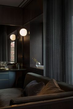 At Six hotel is one of four 1970s buildings that occupy Stockholm's Brunkebergstorg Square.