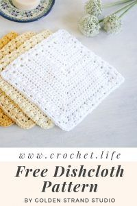 Lullaby Lodge: Dishcloth Crochet Roundup - Six Free Patterns to Make + Free Bonus Pattern Six adorable crochet dishcloth patterns to make, plus free bonus pattern. Crochet Potholders, Crochet Squares, Crochet Blanket Patterns, Dishcloth Crochet, Crochet Dishcloths Free Patterns, Wash Cloth Crochet Pattern, Crochet Scrubbies, Doilies Crochet, Skirt Patterns