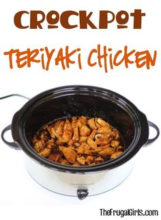 There's no need for Teriyaki take-out when you can have incredible Crockpot Teriyaki Chicken at home! Go grab your Crockpot… just a few ingredients and you're on your way to a simple and delicious Chi