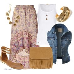A fashion look from April 2014 featuring cotton vest, blue waistcoat and floral print skirt. Browse and shop related looks. Shoe Bag, Clothes For Women, Casual, Clothing, Polyvore, Stuff To Buy, Outfits, Shopping, Collection