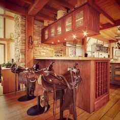 Love the saddle bar stools!!!! Great idea for trophy saddles! & Horse saddle bar stools!!! | FOR THE HOME | Pinterest | Saddle bar ... islam-shia.org