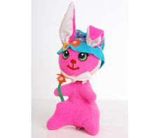 Vintage 60s Hot Pink Dream Pets Easter Bunny Dakin