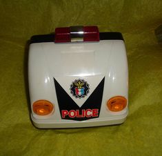 Highway Patrol Learn-To-Drive Dashboard Racing Game Rare Police Moving Wide Screen Working Patrol Light Realistic Engine Sound Orginal Box