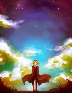 Fullmetal Alchemist by http://phantommarbles.deviantart.com/art/Nebula-262329019