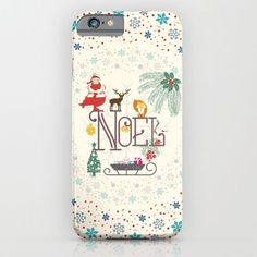 Christmas Noel iPhone & iPod Case by Famenxt - $35.00