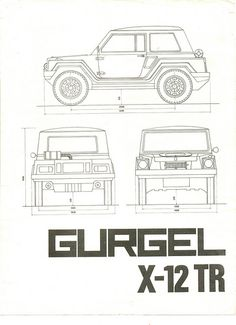 Folheto Gurgel X-12 TR 1979 - 01 | Flickr - Photo Sharing! Weird Cars, Cool Cars, Cars Coloring Pages, 3d Models, Car Drawings, Cool Inventions, Modified Cars, Car Manufacturers, Cars And Motorcycles
