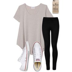 A fashion look from April 2016 featuring Olive + Oak t-shirts, Wolford leggings and Converse sneakers. Browse and shop related looks.