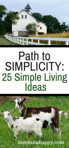 Path to Simplicity: 25 Simple Living Ideas - homesteading and living off the grid - Lebensraum The Journey, Off The Grid, Vida Frugal, Vie Simple, Frugal Living Tips, Frugal Tips, Minimalist Lifestyle, Minimalist Style, Hobby Farms
