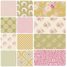 Tilda Apple Bloom Full Fabric Bundle - Save 10% at The Homemakery