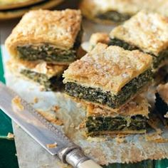 My Nana made this for us quite often, it was delicious.it - Ricette di cucina facili e veloci Best Italian Recipes, Great Recipes, Favorite Recipes, I Love Food, Good Food, Yummy Food, Quiche, Sandwiches, Spinach And Cheese