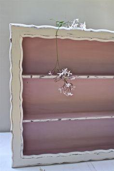 Vintage Shelf / Hand Painted Display / by RepurposebyEchoes