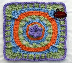 Bloom of Spring, free crochet pattern by KatiDCreations