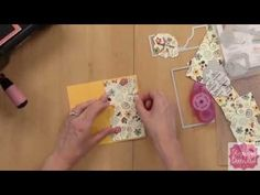 Make a Hidden Panel Card with Stephanie Barnard from The Stamps of Life - YouTube