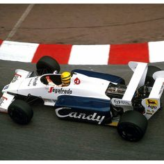 Vist enlapista.com  #senna #magicsenna #toleman #f1 #Formula1