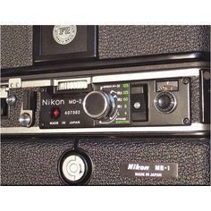Control panel of Nikon MD-2
