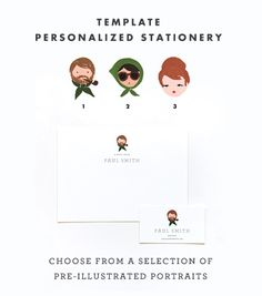adorable personalized stationary