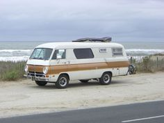 Dodge A100 Motorhome . How cool is that??