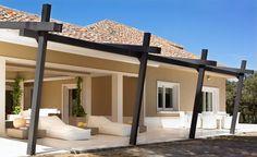 aluminum patio cover design with transparent roof material ...