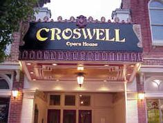 Historic Croswell Opera House -- established 1866 -- the oldest, continuously operating, community theater, in the state of Michigan! www.croswell.org